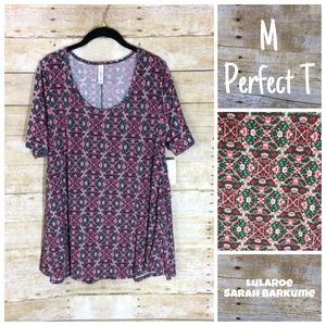 Floral LuLaRoe Perfect Tee